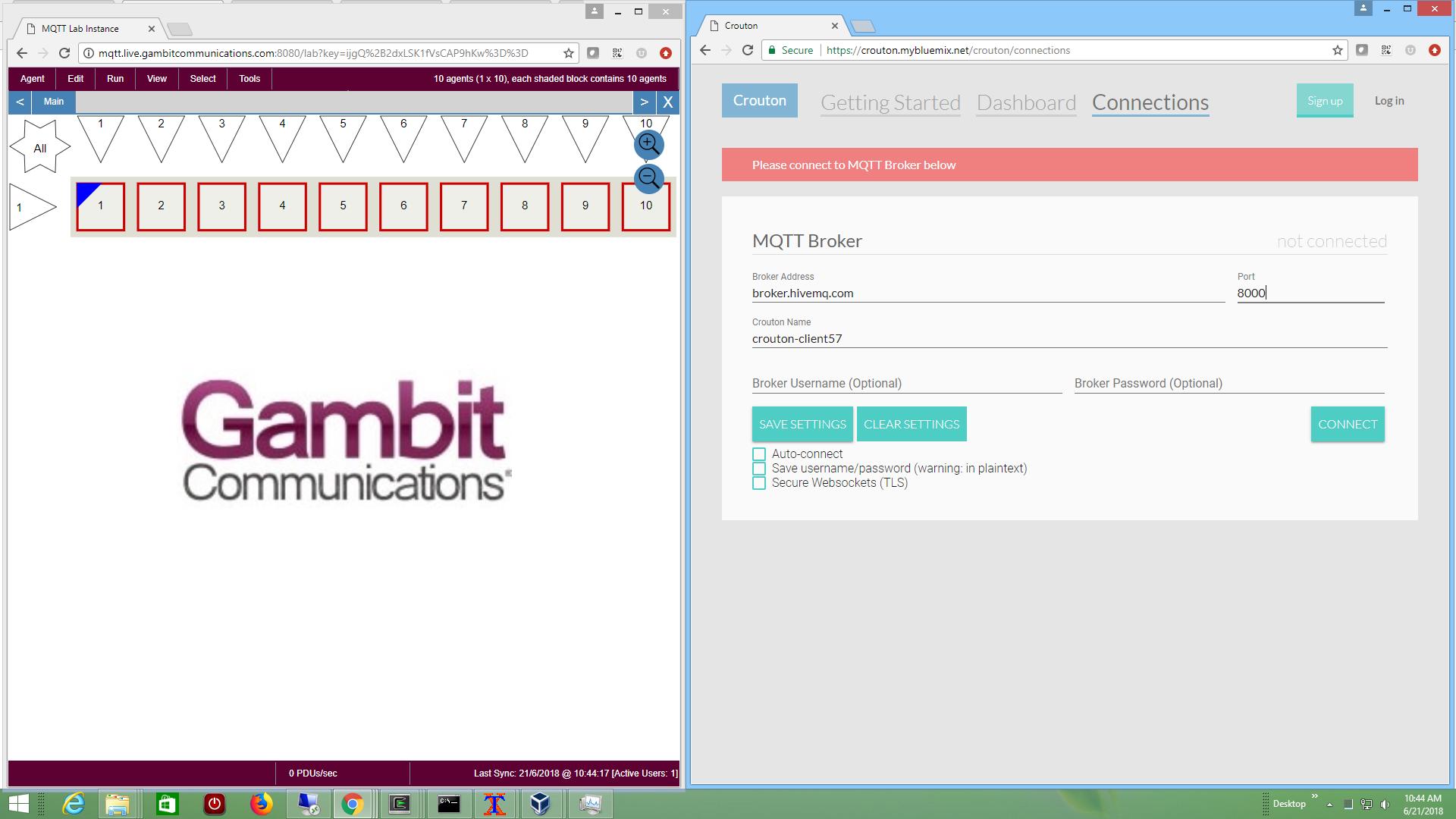 Gambit Communications - MIMIC SNMP Simulator